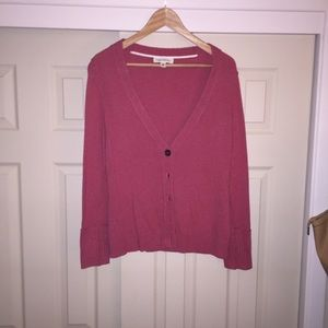 Banana Republic Pink Cardigan